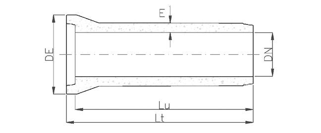 Tuyauteries en masse - schéma