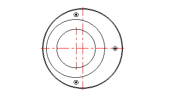 Croquis de vue en plan approximative des dalles réductrices